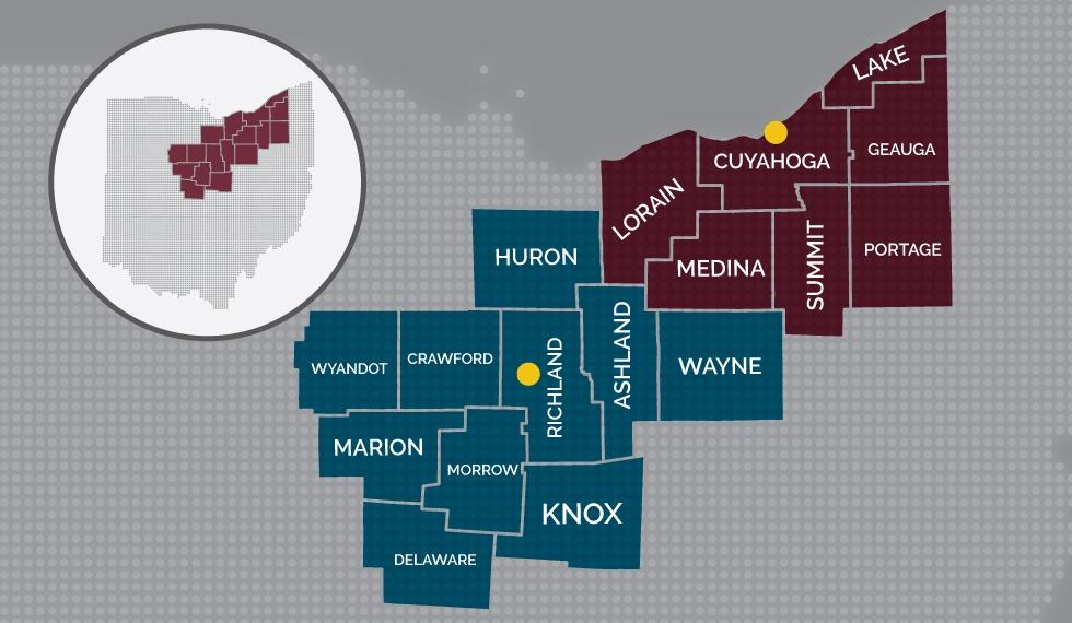 VNA Ohio Service Area